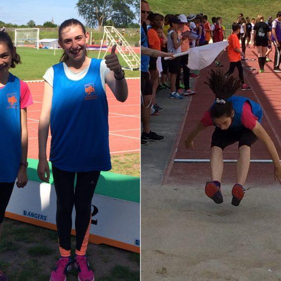 Compétition d'athlétisme régionale