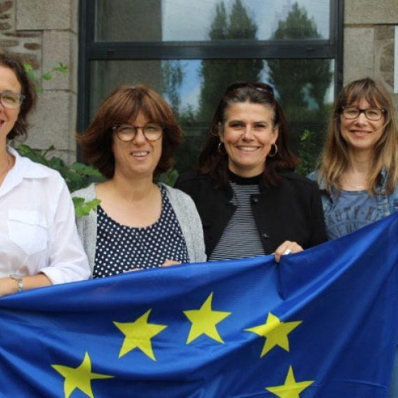 Le projet Erasmus + validé au collège