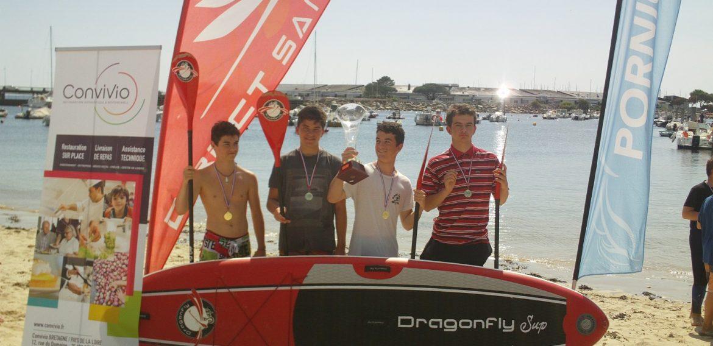 Première compétition de Stand Up Paddle