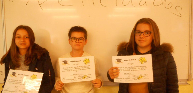Concours d'épellation en espagnol