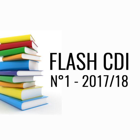 FLASH CDI N° 1 – 2017/2018