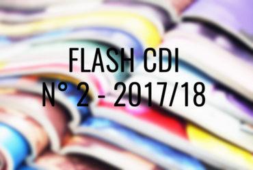 FLASH CDI N° 2 – 2017/2018