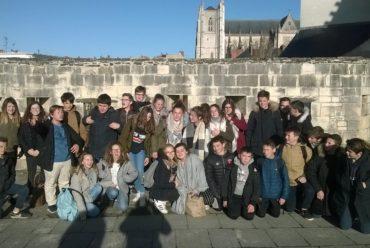 Sortie histoire/arts plastiques des 4e à Nantes
