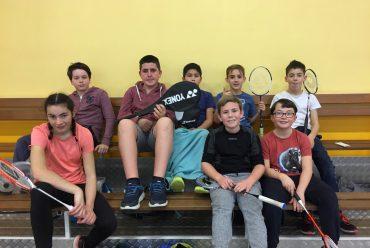Compétition de badminton