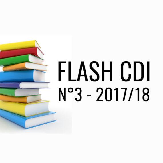 FLASH CDI N° 3 – 2017/2018