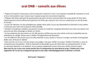thumbnail of oral DNB conseils