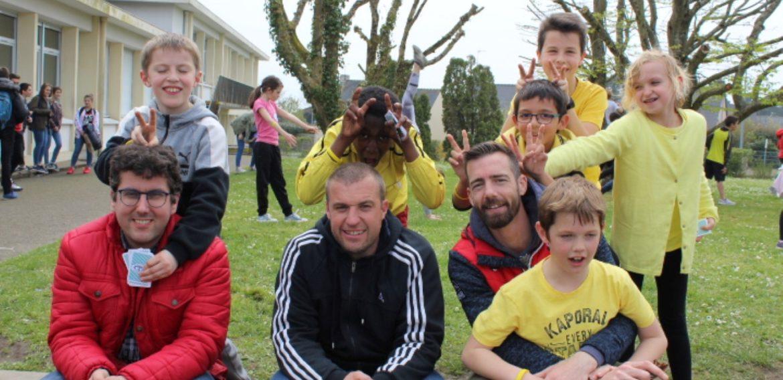 Journée sportive organisée au collège Saint Jean Baptiste
