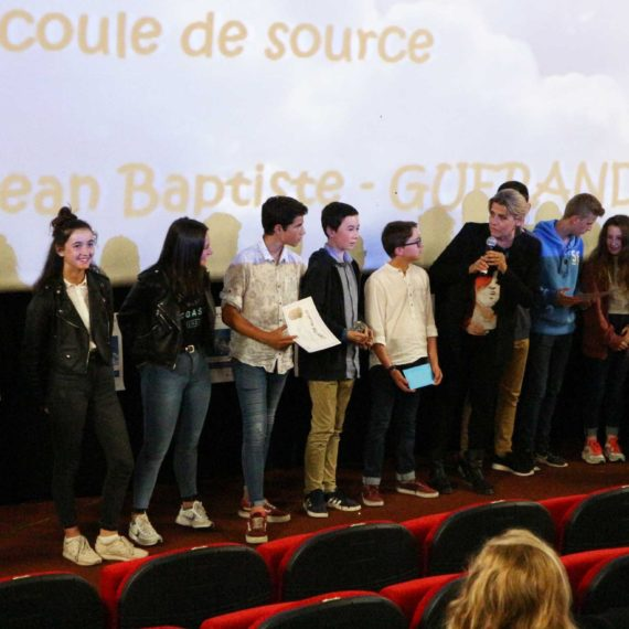 Remise des prix du concours de courts-métrages