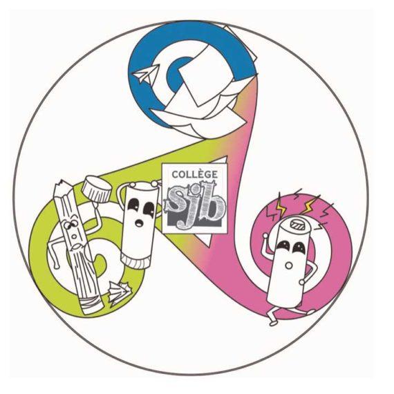 Un nouveau logo pour le tri sélectif au collège