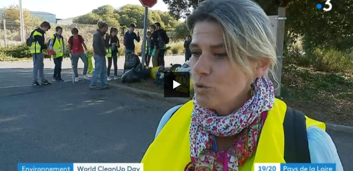 World clean up day – Reportage France 3