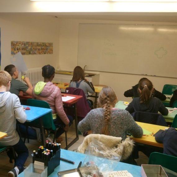 Ateliers de travaux manuels à caractère spirituel