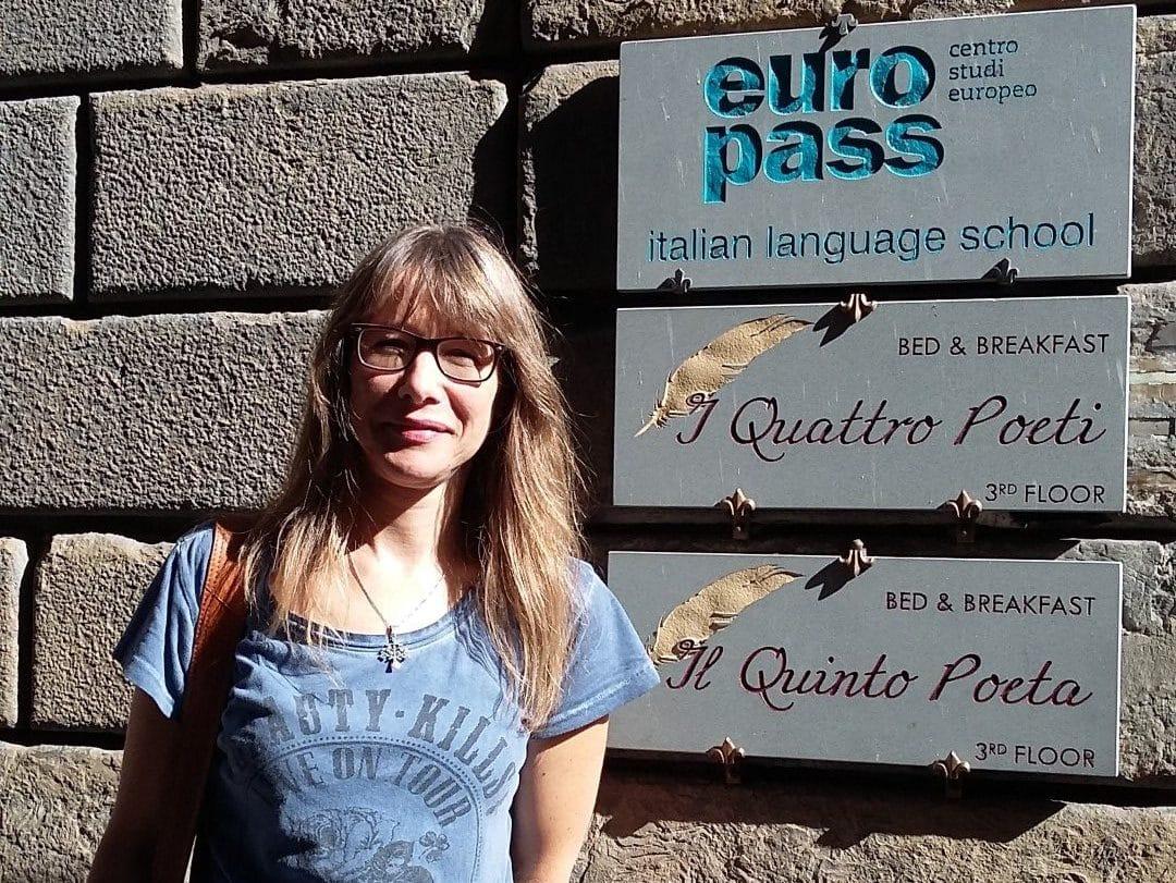 Erasmus Plus, un professeur de Langue à Florence.