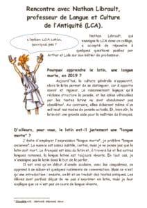 thumbnail of Fiche élèves présentation option latin
