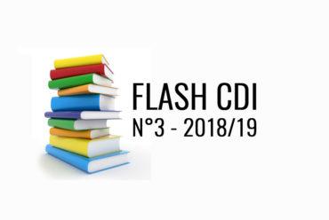 FLASH CDI N° 3 – 2018/2019