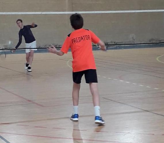 Compétition régionale de badminton à Laval le 6 mars