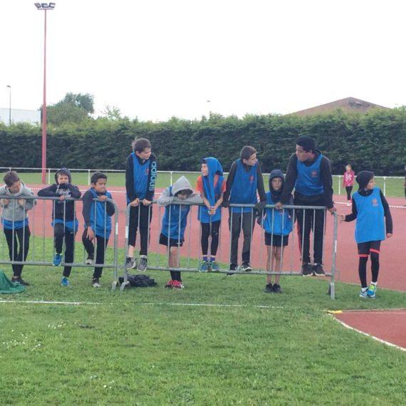 Journée d'athlétisme district