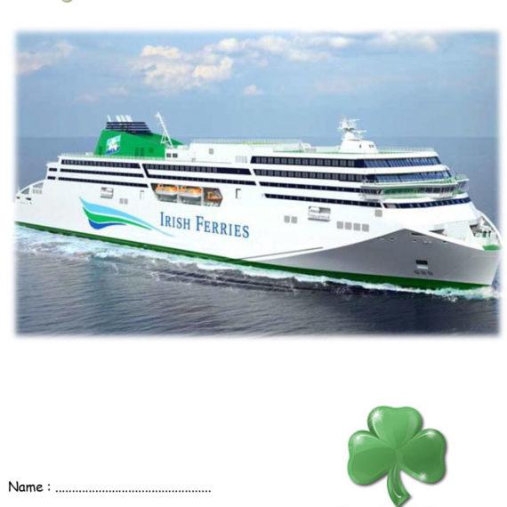 Livret du voyage en Irlande