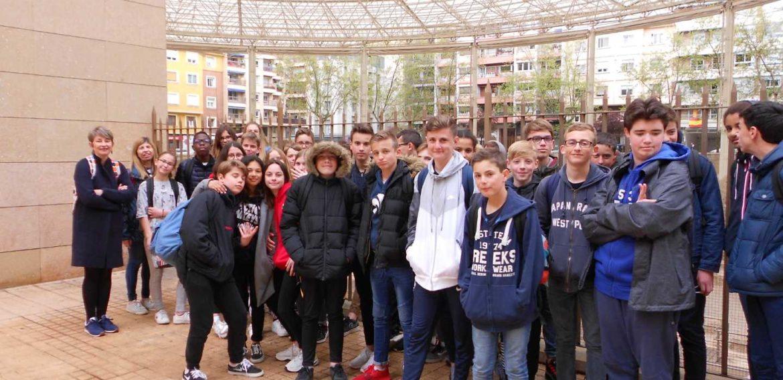 Voyage culturel à Valence 4ème A et 4ème E