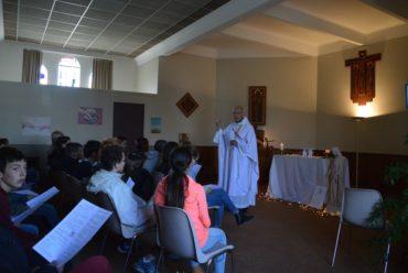 Messe avec Père Pierrick