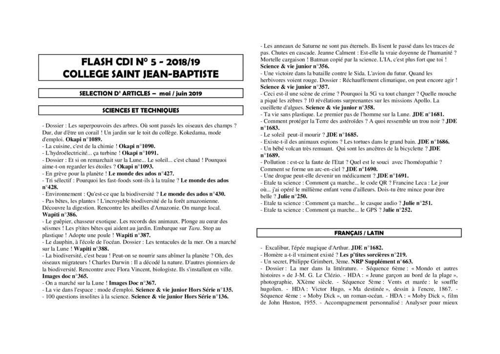 thumbnail of FLASH CDI 2018-5
