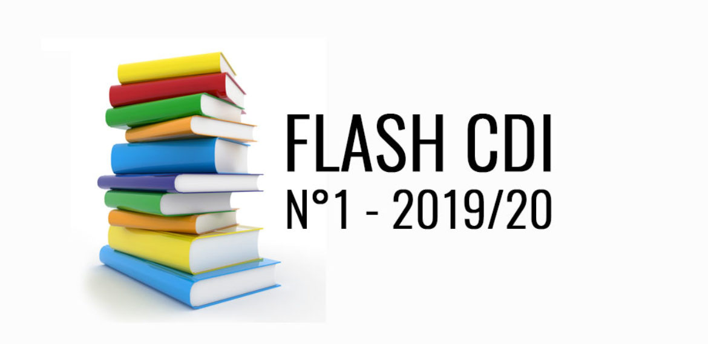 Flash CDI n°1 – 2019/2020