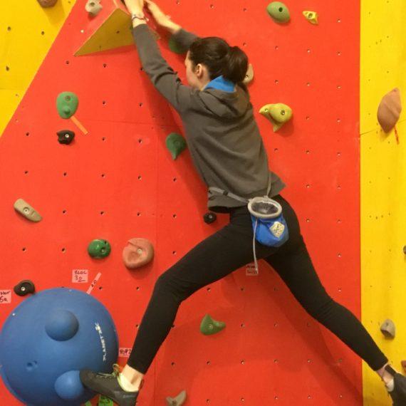Une journée de grimpe