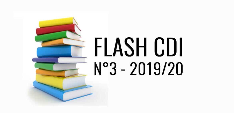 Flash CDI n°3 – 2019/2020