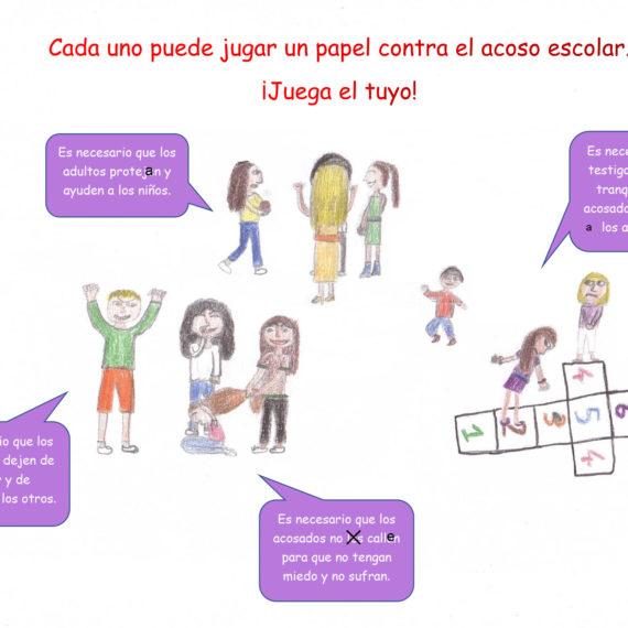 Affiches contre le harcèlement – 4ème & 5ème Bilingue