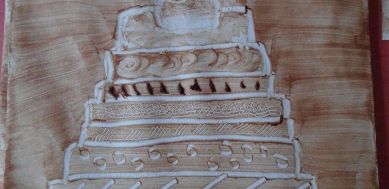 Un gâteau au chocolat pour Pâques