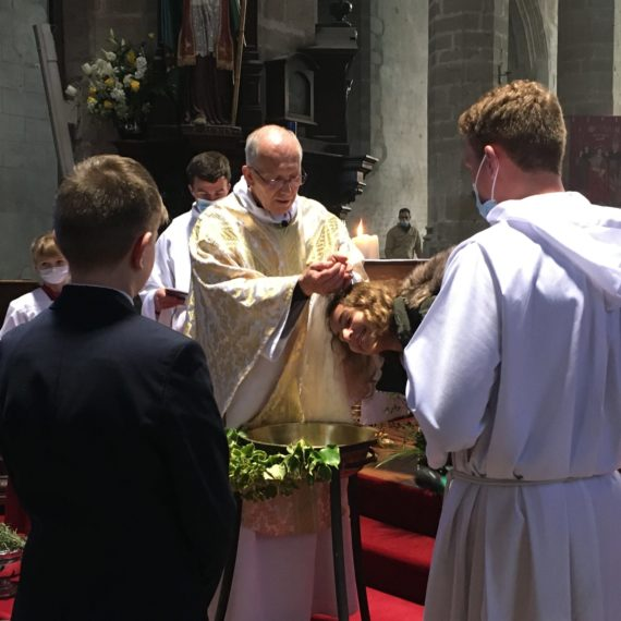 Vers le sacrement de baptême