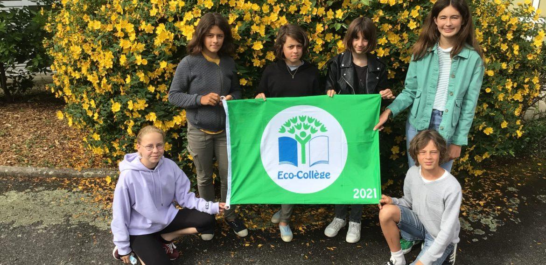 Le label Eco-collège à Saint Jean-Baptiste
