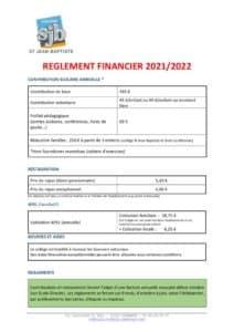 thumbnail of REGLEMENT FINANCIER 2021 2022