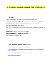 thumbnail of Des sites qui vous informent et qui vous proposent des stages