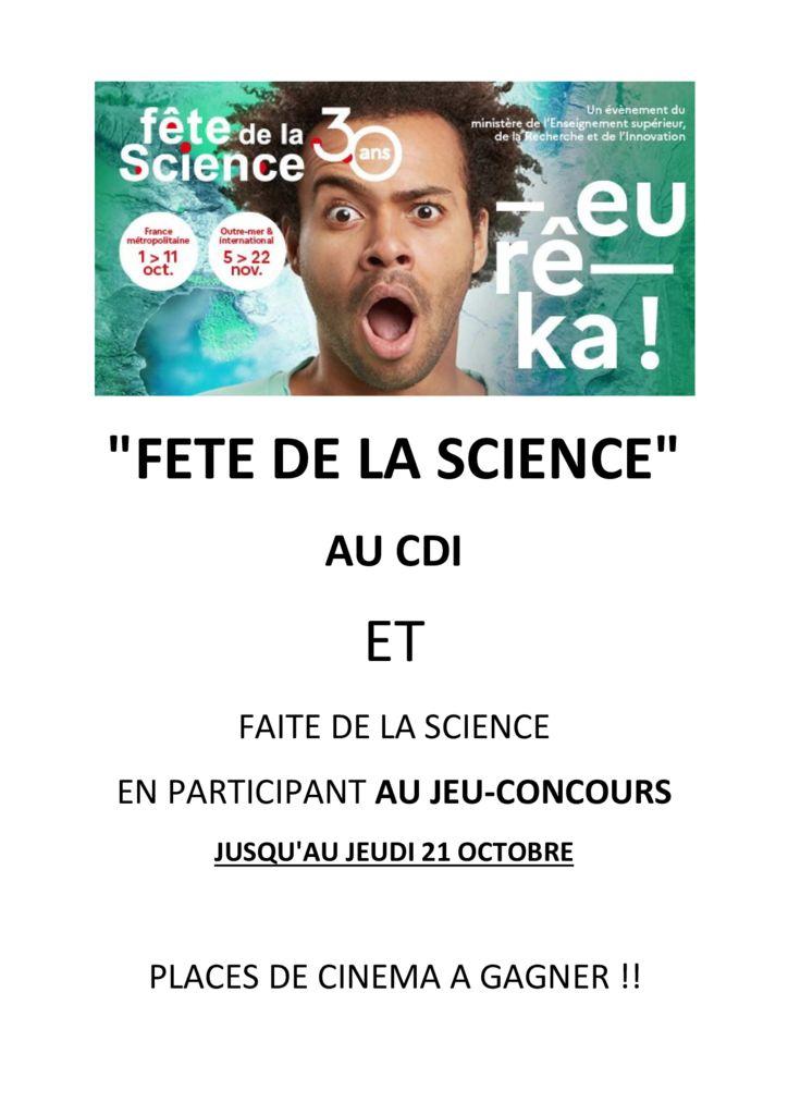 thumbnail of FETE DE LA SCIENCE 2021